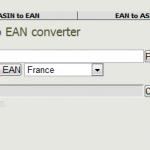 ASIN ⇔ EAN converter